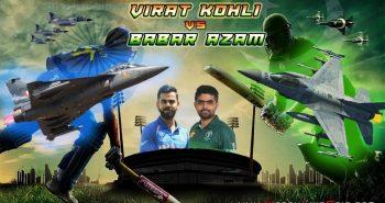 INDIA vs PAKISTAN VIRAT KOHLI VS BABAR AZAM