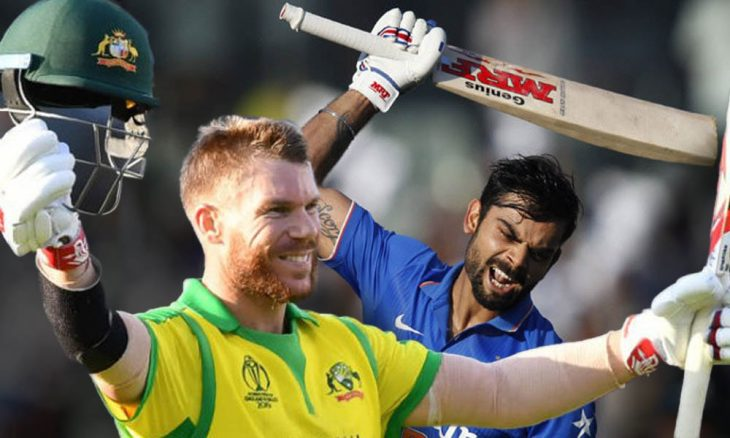 INDIA LOST TO AUSTRALIA DAVID WARNER MAN OF THE MATCH