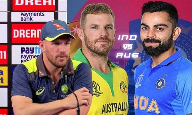 AARON FINCH ON INDIA Vs AUSTRALIA ODI SERIES 2020