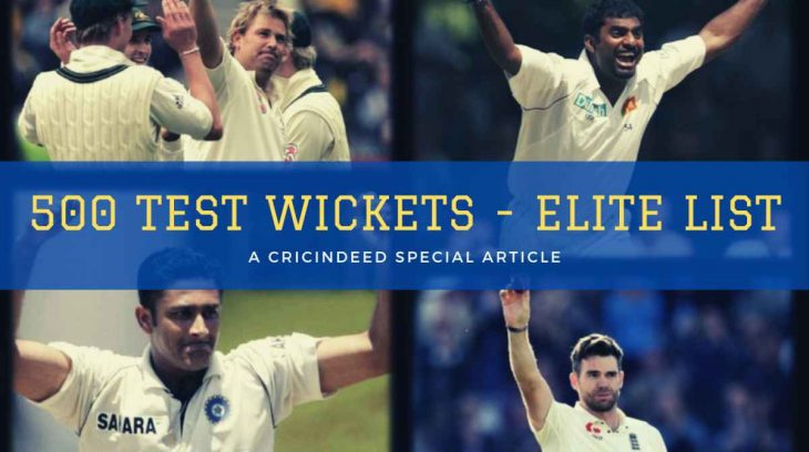 bowlers with 500 wickets in test cricket