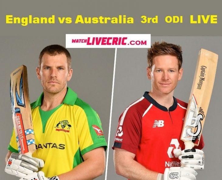 Aus vs Eng 3rd ODI