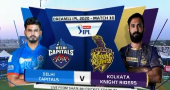 m16 dc vs kkr match highlights