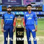 IPL Final DC Vs MI Highlights 2020