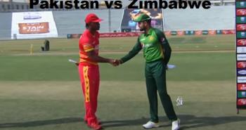 Pakistan vs Zimbabwe Highlights 1st ODI 2020