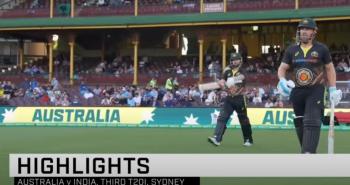IND vs AUS Highlights