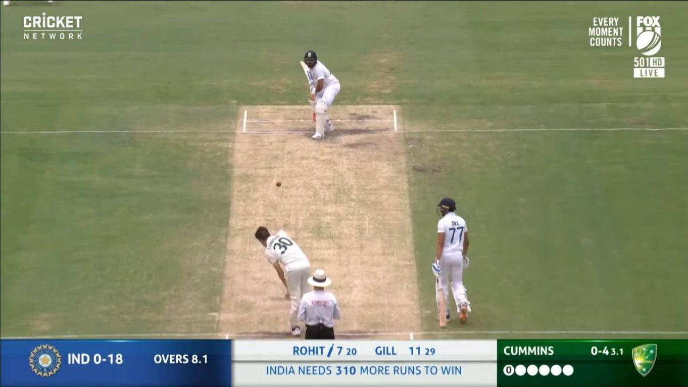 india vs australia highlights 4th test
