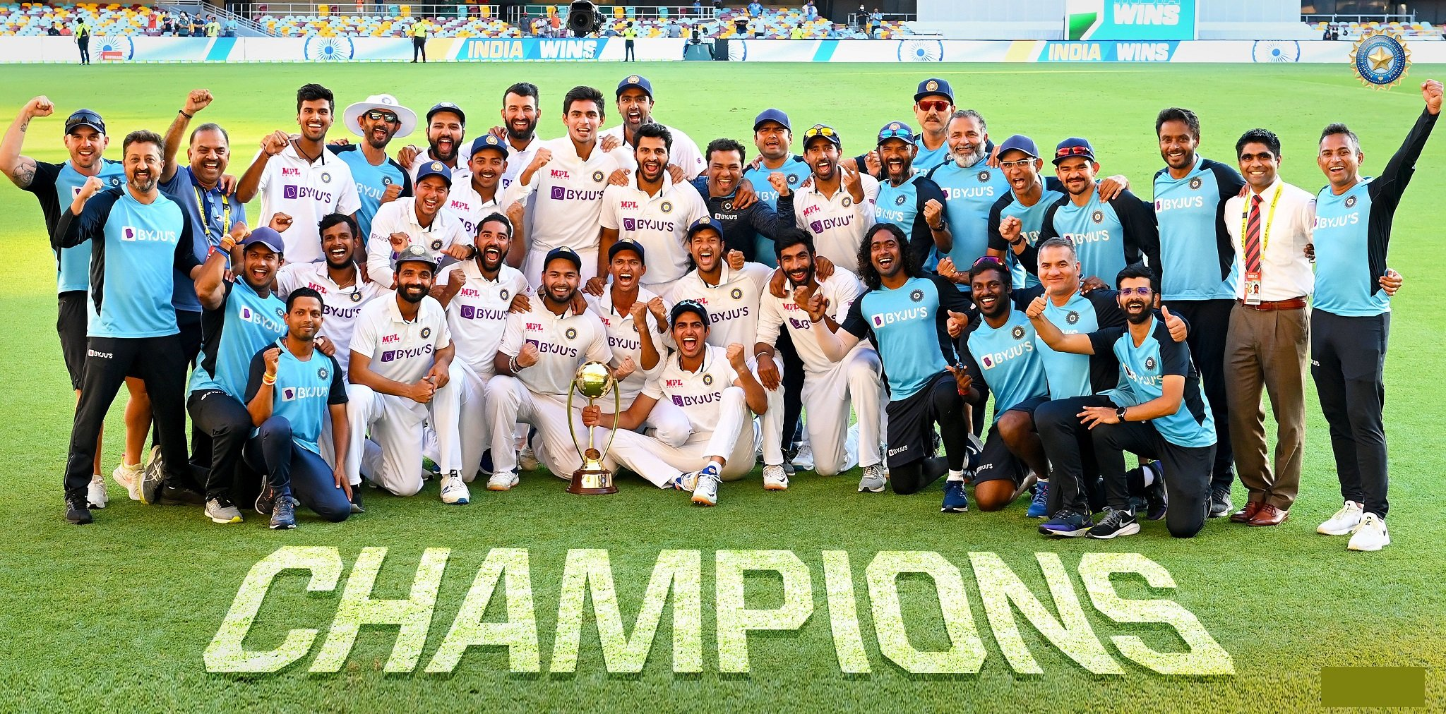 Young Team India Conquers Gabba by Defeating Australia in 4th Test and Wins Series