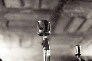 audio band black and white entertainment