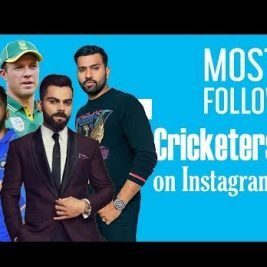 cricketers on instagram